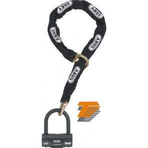 ABUS GRANIT 58 SECURITY LOCK AND 12mm CHAIN 120cm LONG