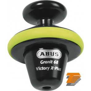 ABUS GRANIT VICTORY 68 YELLOW VOLL DISC LOCK 14mm