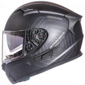 MT KRE SV Matt Black Helmet