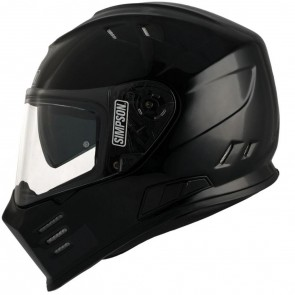Simpson Subdued Solid Gloss Black