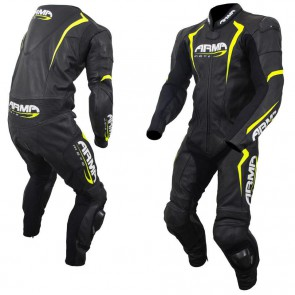 Armr Harada S Leather Suit Black Fluo