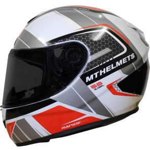 MT Rapide Global White Grey Red
