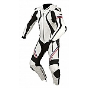 ARMR Harada R Leather Suit White / Blue / Red