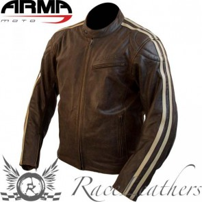 Armr Hiro Brown Leather