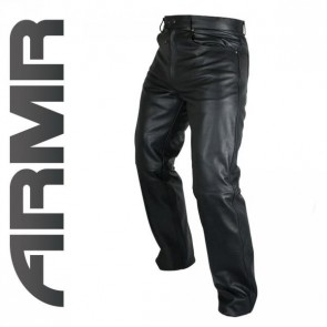 Armr Kenji Leather Jeans