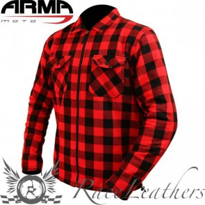 Armr Buffalo Aramid Shirt Red