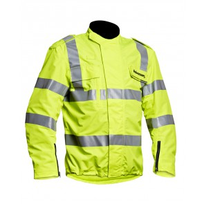Halvarssons High Vis Jacket Jacket Mens Yellow