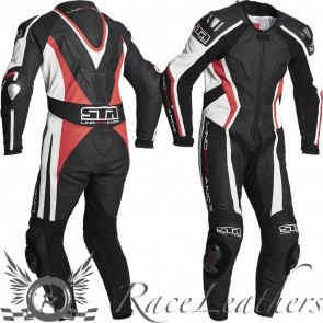 Lindstrands Hyper Red 1 Piece \Race Leather Suit