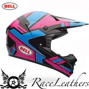 Bell MX 2016 SX-1 Stack Blue Pink