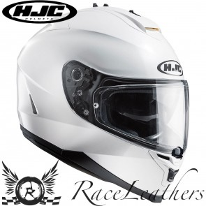 HJC IS-17 Solid White