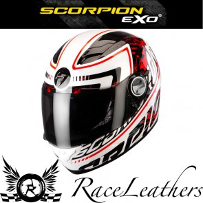Scorpion Exo 500 Login Red Helmet