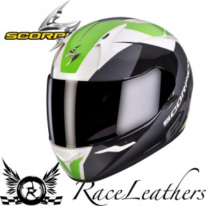 Scorpion Exo 410 Slicer Green Helmet