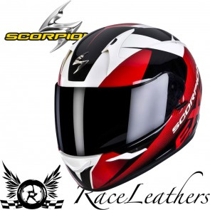 Scorpion Exo 410 Slicer Red Helmet