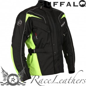 Buffalo Hurricane Jacket Black Neon