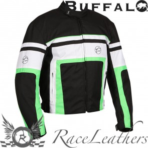 Buffalo Retro Jacket Black Green