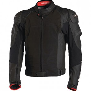 RICHA BALLISTIC EVO WATERPROOF LEATHER TEXTILE JACKET BLACK