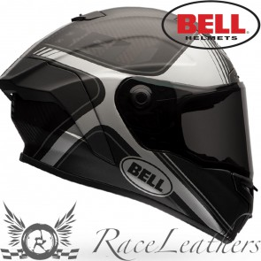 Bell Street Race Star Tracer Matt Black Grey