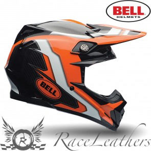 Bell Moto-9 Flex Factory Orange Black