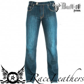 Bull-it Laser 4 Dirty Wash Blue Jeans Short