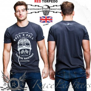 Red Torpedo Glemseck Rock & Roll T Shirt Black