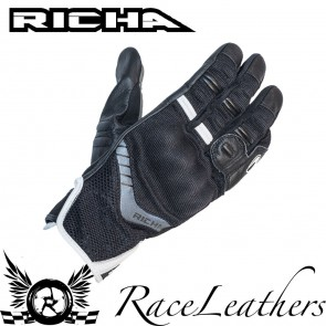 Richa Desert Black Gloves
