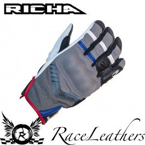 Richa Desert Grey Blue Gloves