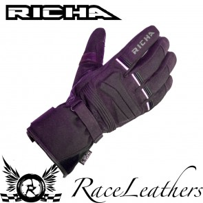 Richa Peak Black Gloves