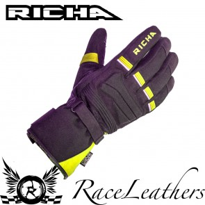 Richa Peak Black Fluo Gloves