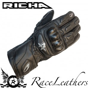 Richa RS86 Black Gloves
