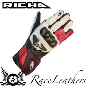 Richa RS86 Red Gloves