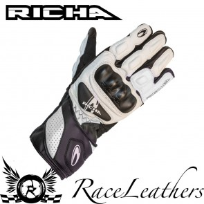 Richa RS86 White Gloves