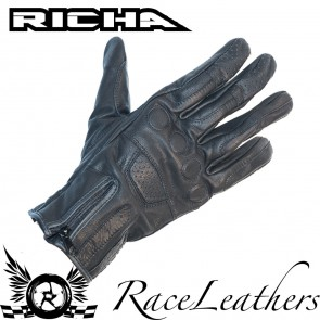 Richa Steve Black Gloves