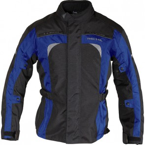 RICHA BOLT WATERPROOF JACKET BLACK BLUE