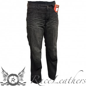 RS DJ1100 Traveller Black Jeans Regular