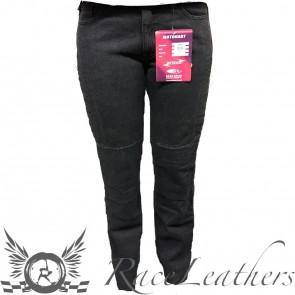 RS 1001 Womens Black Jeans Reg