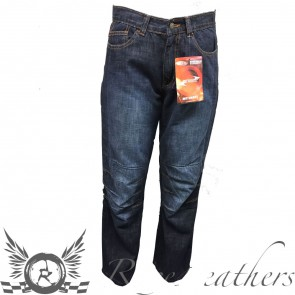 RS Rider Jeans Dark Blue Reg