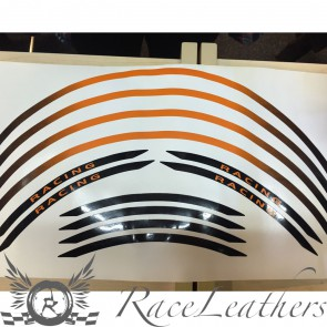 RS Wheel Stripes Orange