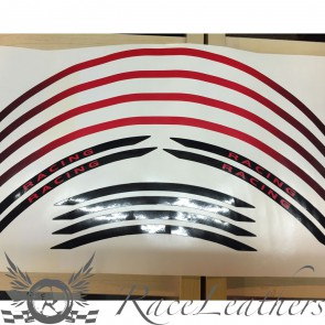 RS Wheel Stripes Red