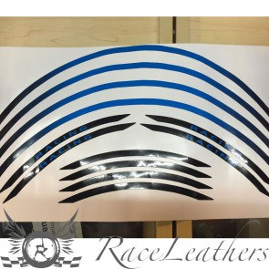 RS Wheel Stripes Black Blue