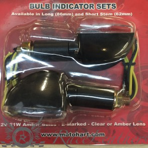RS 100B Indicators Black Clear Long