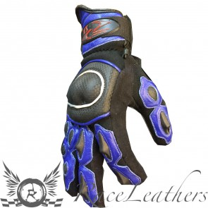 RS Short Cuff Gloves Blue