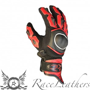 RS Short Cuff Gloves Red