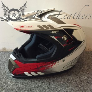 Viper RSX55 White Red Helmet Small