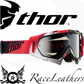 Thor Hero Red White Black Goggles