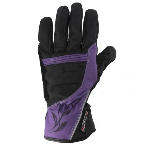 Rayven Diamond Ladies Gloves Purple