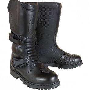 RICHA WATERPROOF ADVENTURE TOURING WP BOOTS BLACK