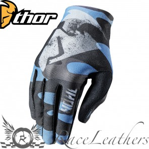 Thor Void Gloves S17 Covert Midnight Camo