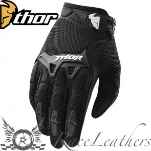 Thor Spectrum Youth Gloves S15 Black