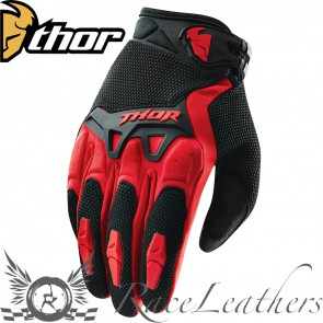 Thor Spectrum Youth Gloves S15 Red