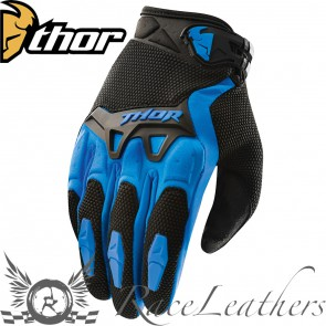 Thor Spectrum Youth Gloves S15 Blue